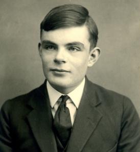 Alan Turing. Fotografía: Sherborne School