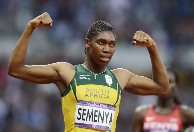 Fotografía: Caster Semenya después de ganar una medalla de plata en las Olimpiadas de 2012. Dylan Martinez / Reuters