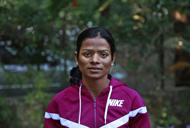 Fotografía: Dutee Chand en 2014. Rafiq Maqbool / Associated Press / por medio de apimages.com