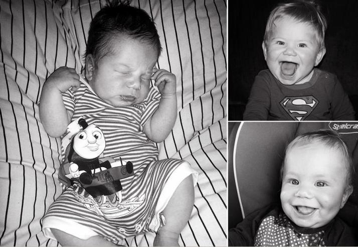 """(Imágenes tomadas por la mamá y el papá de """"M"""" - ¡Miren que hermosa sonrisa!)"""