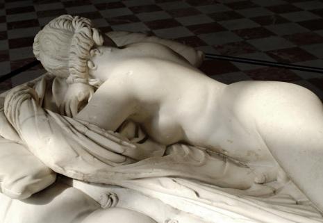 escultura hermafrodita