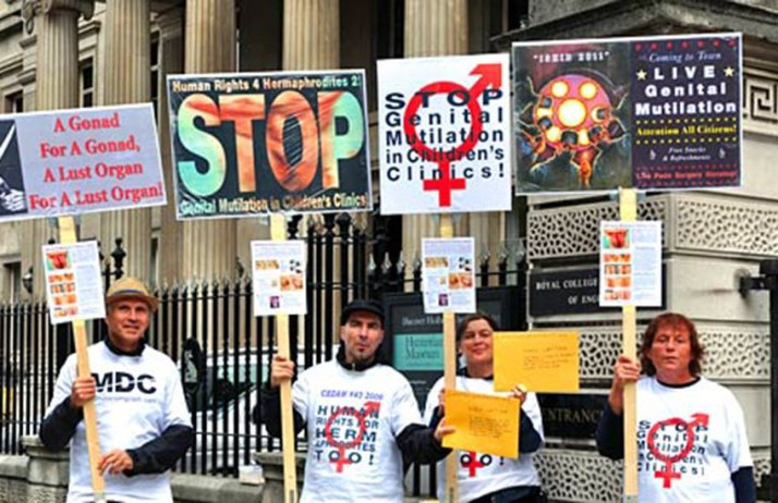 protesta intersex