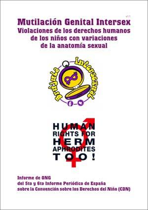 Informe ONG intersex 2017 sobre España (Brújula Intersexual y ...